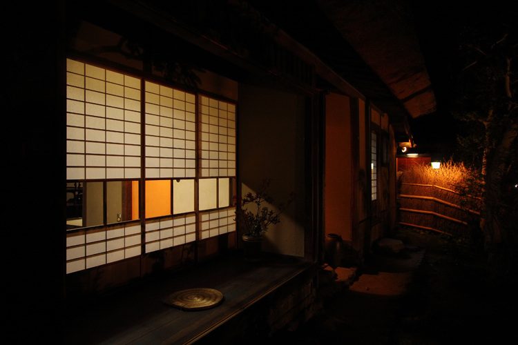 嵐山花灯路2007 -落柿舎-_e0051888_19425122.jpg