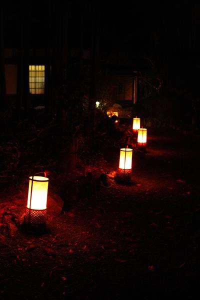 嵐山花灯路2007 -落柿舎-_e0051888_1943424.jpg