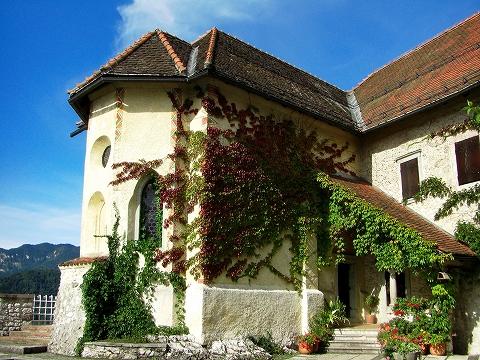 3日目(8/24):スロヴェニア アルプスの瞳「ブレッド湖」(3) ブレッド城_a0039199_20515175.jpg