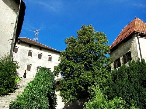 3日目(8/24):スロヴェニア アルプスの瞳「ブレッド湖」(3) ブレッド城_a0039199_20525714.jpg