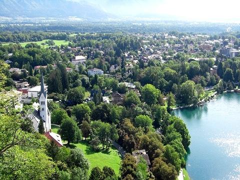 3日目(8/24):スロヴェニア アルプスの瞳「ブレッド湖」(3) ブレッド城_a0039199_20532458.jpg