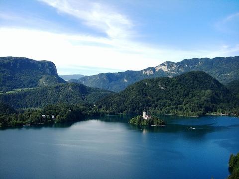 3日目(8/24):スロヴェニア アルプスの瞳「ブレッド湖」(3) ブレッド城_a0039199_20551373.jpg