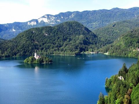 3日目(8/24):スロヴェニア アルプスの瞳「ブレッド湖」(3) ブレッド城_a0039199_2056139.jpg