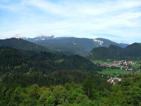 3日目(8/24):スロヴェニア アルプスの瞳「ブレッド湖」(3) ブレッド城_a0039199_20562022.jpg