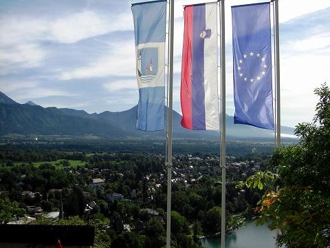 3日目(8/24):スロヴェニア アルプスの瞳「ブレッド湖」(3) ブレッド城_a0039199_20571296.jpg