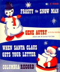Frosty the Snowman by Bing Crosby_f0147840_0575786.jpg