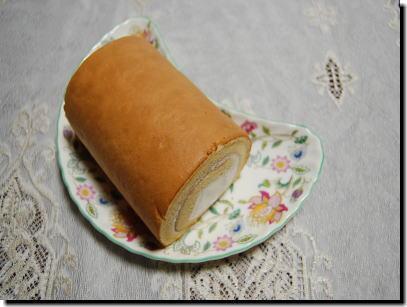 ご褒美ロールケーキ