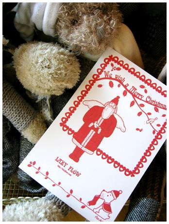 Christmas card♪_f0023062_1233724.jpg