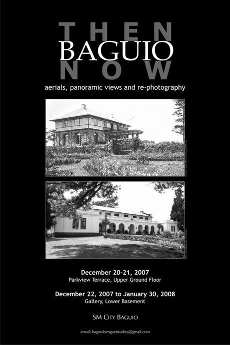 バギオの歴史を観る写真展 と バギオ・カレンダー2008_a0109542_13114563.jpg