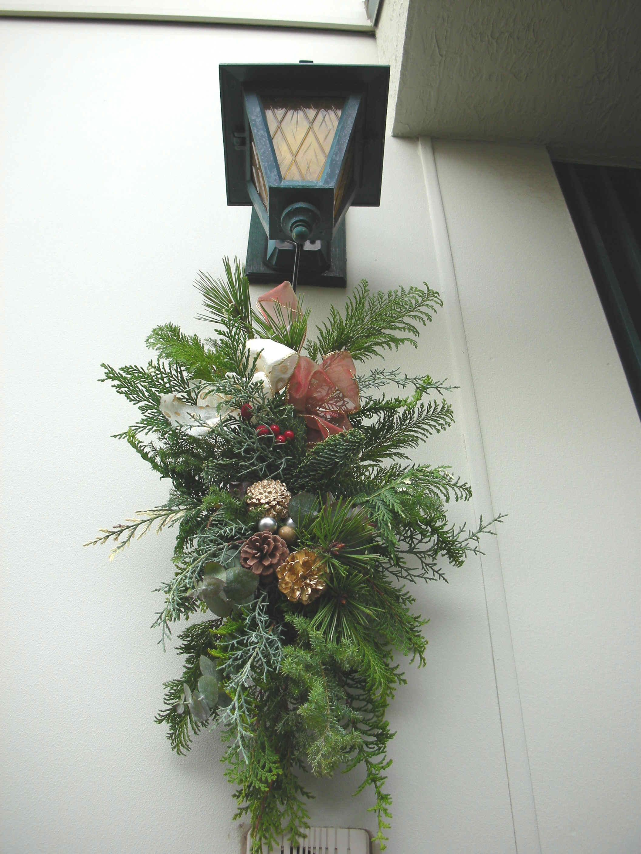 クリスマスの玄関_c0128489_16143862.jpg