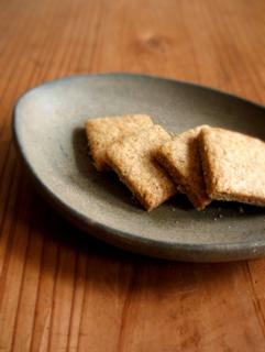 酒粕酵母クッキー(きなこ10%、バター・卵なし)_c0110869_2057107.jpg