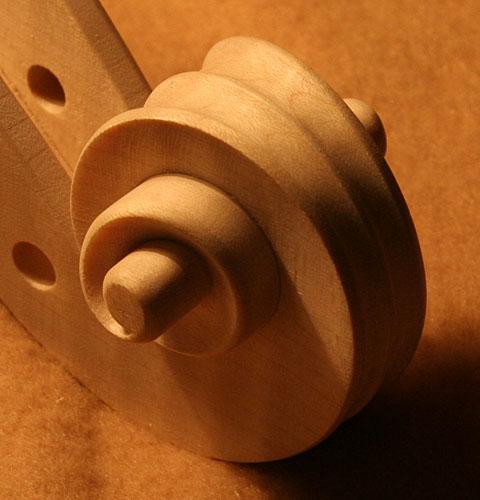 ガリンベルティモデル、白木で完成_d0047461_6339.jpg