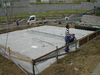 C棟工事着工・基礎・建て方_c0038619_10222743.jpg