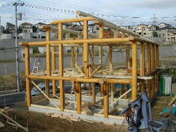 C棟工事・建て方_c0038619_1041950.jpg