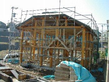 C棟工事・建て方・室内_c0038619_10443618.jpg