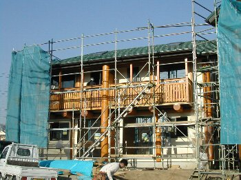 C棟工事・建て方・室内_c0038619_1045457.jpg