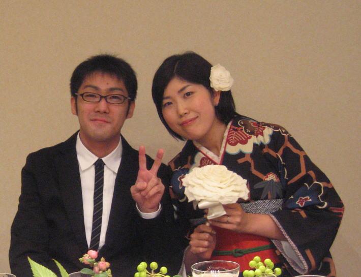 新郎新婦様からのメール ブーケ 一会_a0042928_0553295.jpg