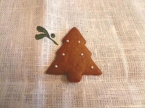 クリスマスのお菓子ⅱ ミニマリアのジンジャーマンクッキー。。。.☆*:.。.☆*†_a0053662_23485849.jpg