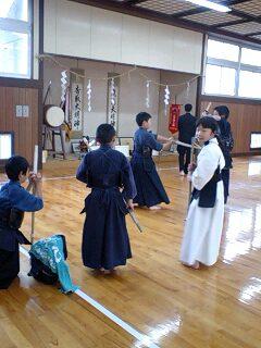 山中少年剣道教室納会試合_d0093903_12472494.jpg
