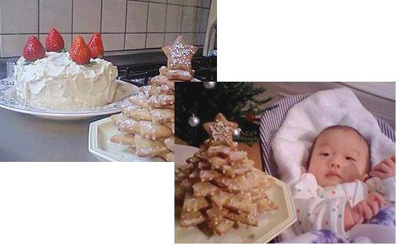 クリスマス:クッキーツリー_a0089450_21183847.jpg