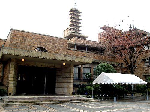 甲子園ホテル (現 武庫川女子大学・甲子園会館) (※兵庫県西宮市)_f0139570_7145519.jpg