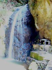 我が家の歳時記  ~冬の滝 ~_b0102572_14265398.jpg