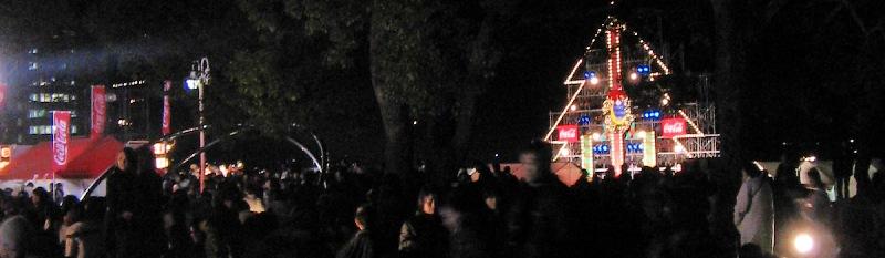 X\'masソングと花火の祭典・・・べっぷ クリスマス HANABI ファンタジア_c0001578_13412542.jpg