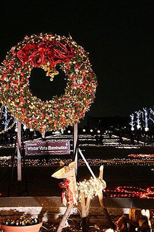 昭和記念公園クリスマスイルミネーション_f0030085_11274171.jpg