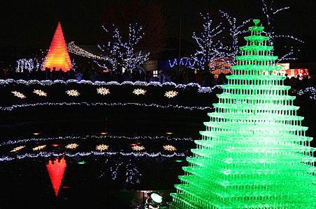 昭和記念公園クリスマスイルミネーション_f0030085_11282219.jpg
