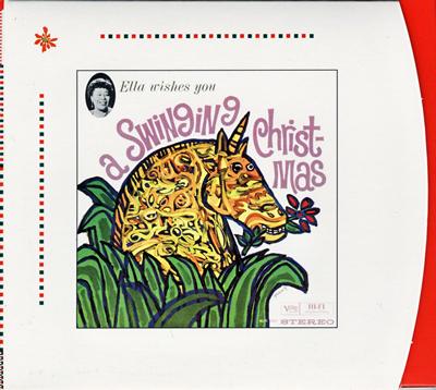 Ella Fitzgerald 「A SWINGIMG CHRISTMAS」_e0048332_1492431.jpg