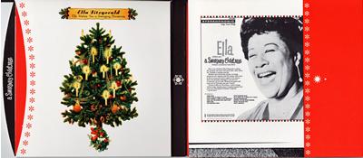 Ella Fitzgerald 「A SWINGIMG CHRISTMAS」_e0048332_1504118.jpg
