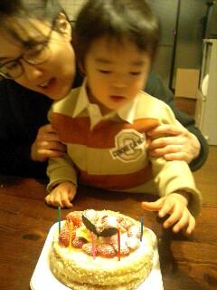 初ケーキ!_f0124083_2130122.jpg