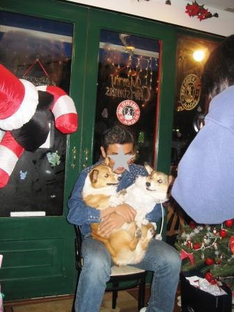 クリスマスパーティ ~JeJe Cafe_f0155118_6495669.jpg