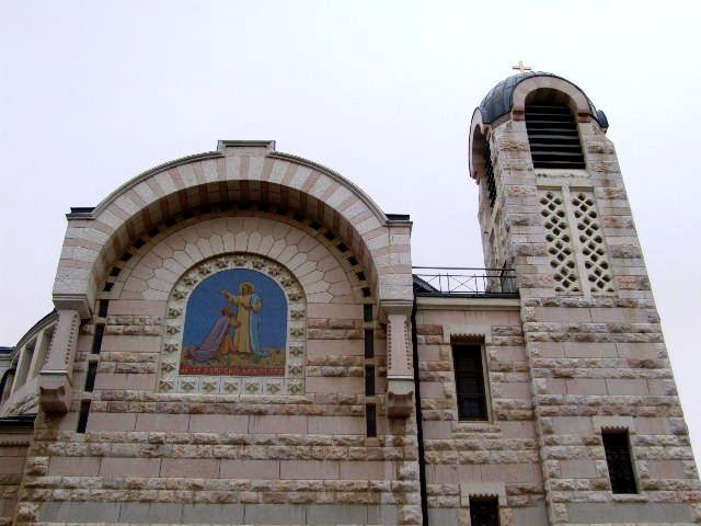イスラエル紀行(56) シオンの丘 鶏鳴教会_c0011649_1594224.jpg