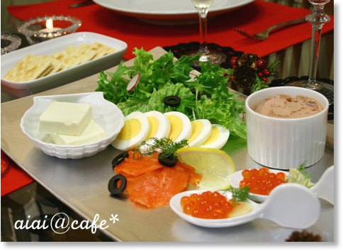 シャンピニオンのスープ&お好みカナッペ_a0056451_125654.jpg