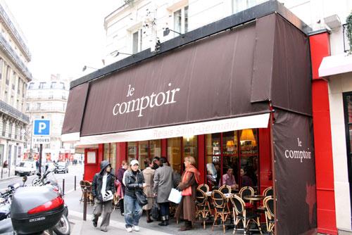 パリ人も並ぶビストロ Le Comptoir _b0064766_16351075.jpg