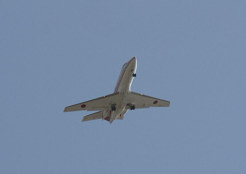 航空自衛隊 U-125 飛行点検機_d0137627_20122359.jpg
