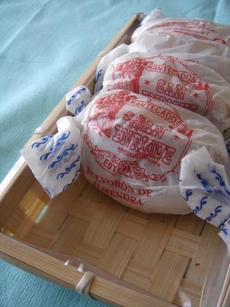 スペインのクリスマス菓子_e0120938_13453830.jpg