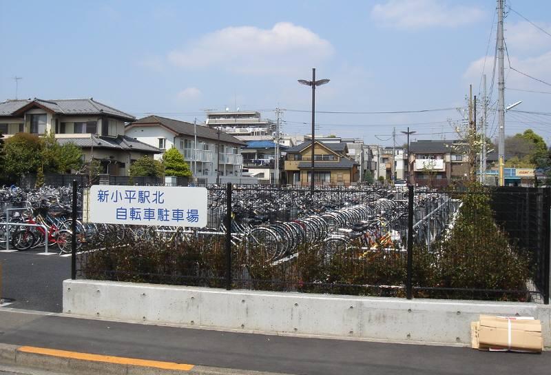 (仮称)新小平駅北公園の整備_f0059673_1294957.jpg