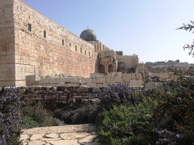 イスラエル紀行(58) オフェル考古学ガーデン_c0011649_17397.jpg