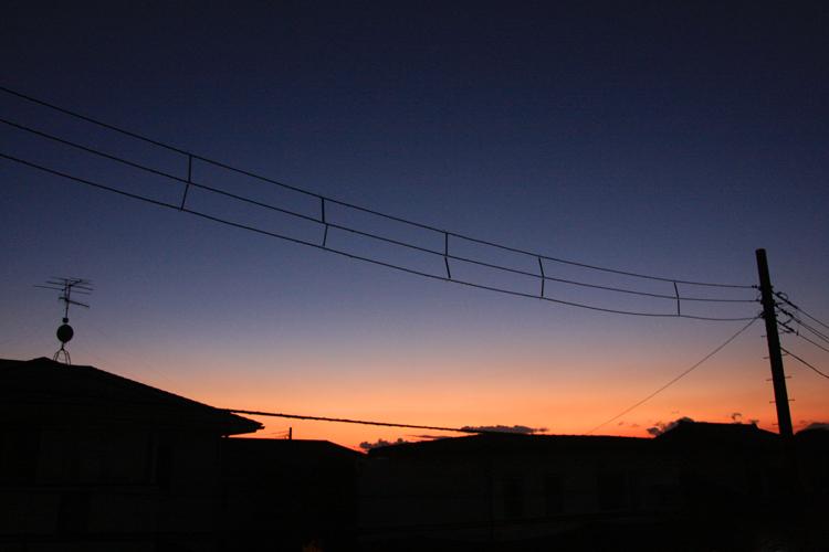 大晦日の夕陽。_b0022268_20574549.jpg