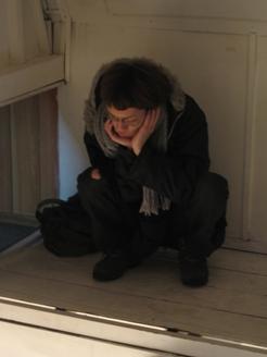 455)②テンポラリー 「木村環×藤谷康晴 ・乱」 終了・2007年12月30日(日)_f0126829_23541519.jpg