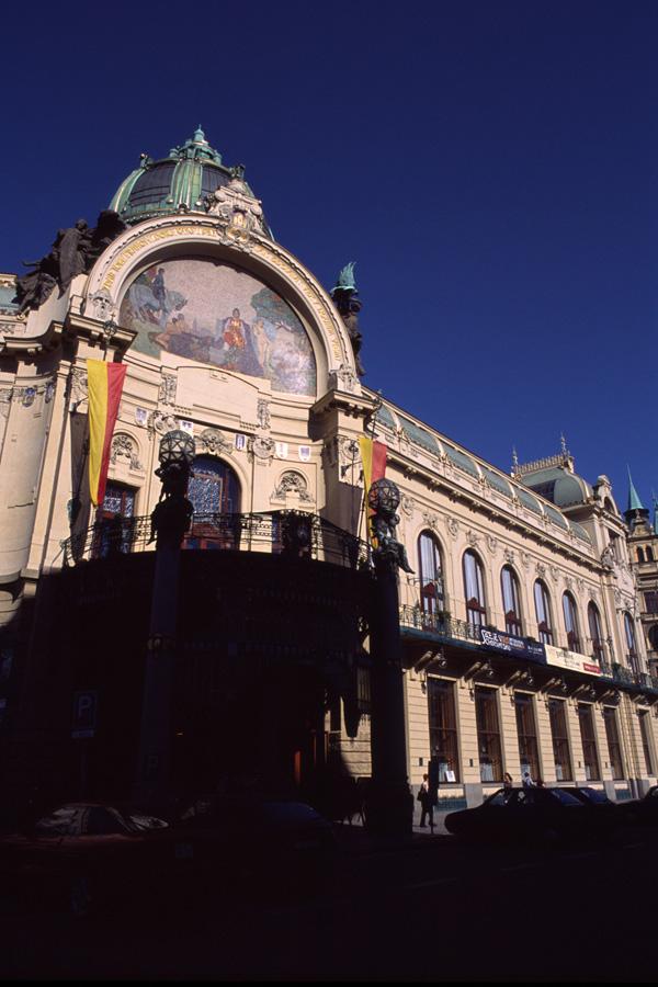 「プラハの市民会館」_b0043304_1262948.jpg