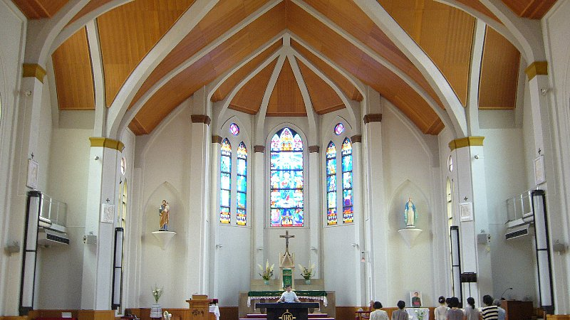 カトリック久留米教会_c0112559_10461218.jpg