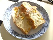 Pain au maïs et Soupe à l\'oignon  とうもろこしのパンとオニオングラタンスープ_f0121752_21571999.jpg