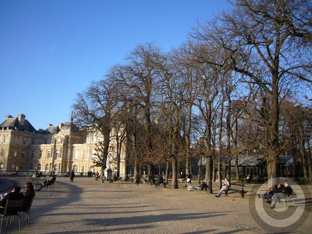 ■新年のリュクサンブルグ公園(パリ)_f0063227_9225374.jpg