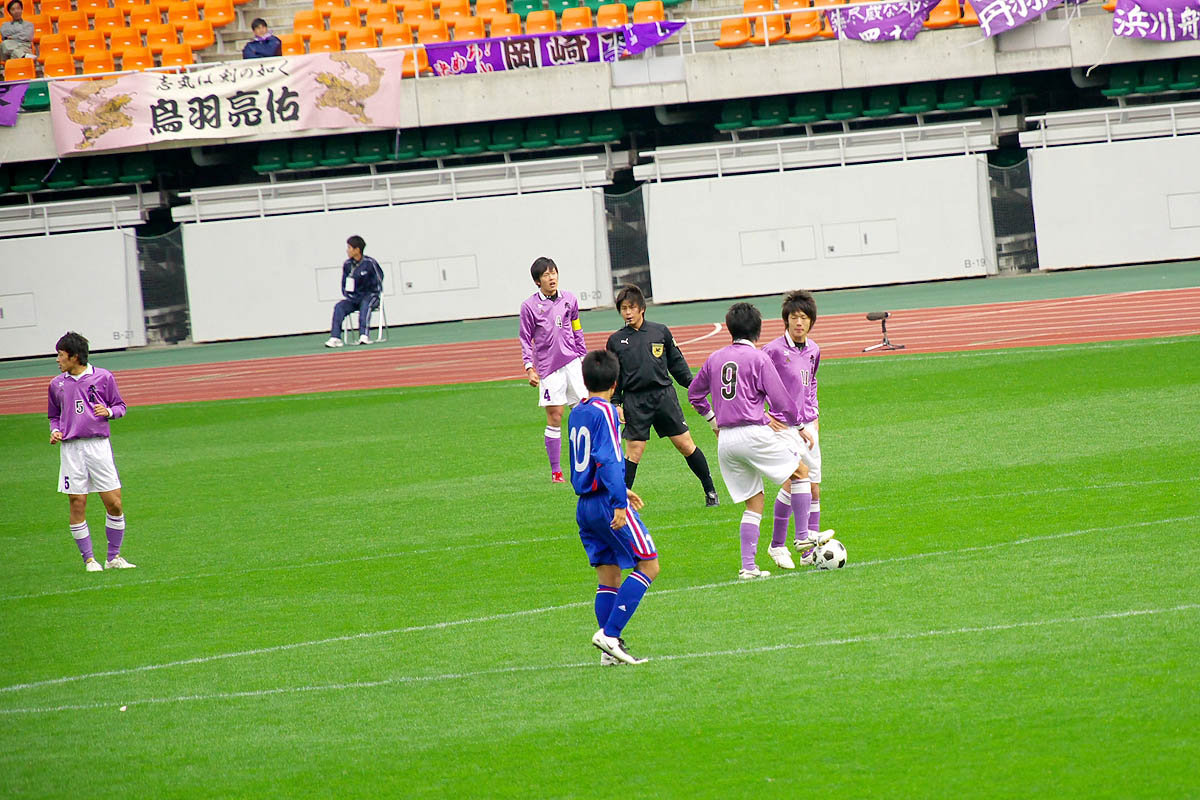 第86回 全国高校サッカー選手権大会 静岡 準決勝_f0007684_1147561.jpg