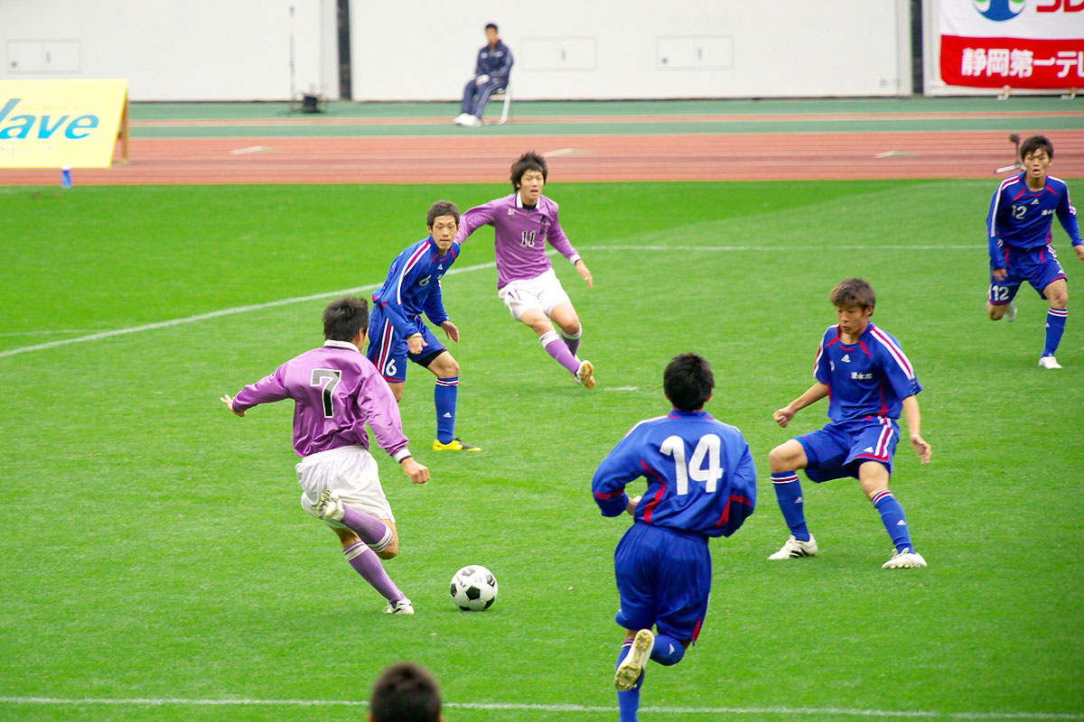 第86回 全国高校サッカー選手権大会 静岡 準決勝_f0007684_1151245.jpg