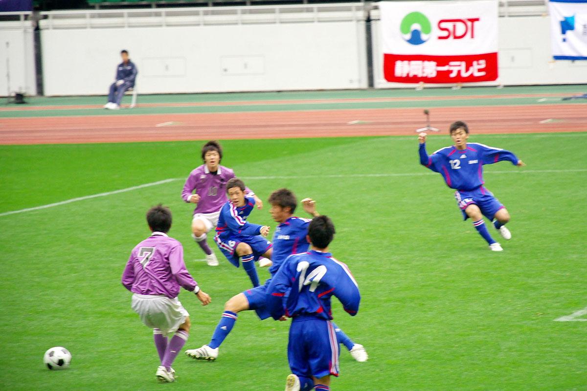 第86回 全国高校サッカー選手権大会 静岡 準決勝_f0007684_11513423.jpg