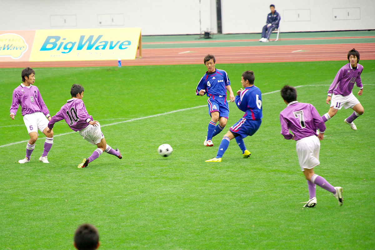 第86回 全国高校サッカー選手権大会 静岡 準決勝_f0007684_11514556.jpg
